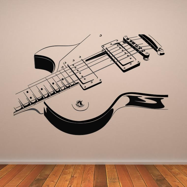 Guitar Wall Art Luxury Metal Wall Art For Metal Tree Wall Art With Regard To Guitar Metal Wall Art (Image 7 of 20)