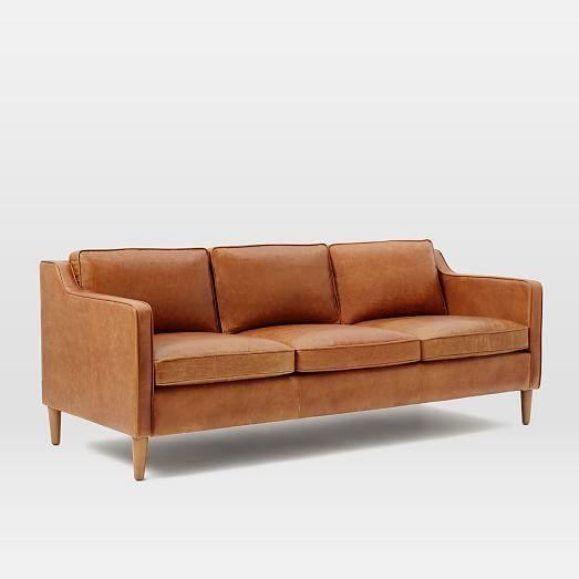 "Hamilton Leather Sofa (81"") 