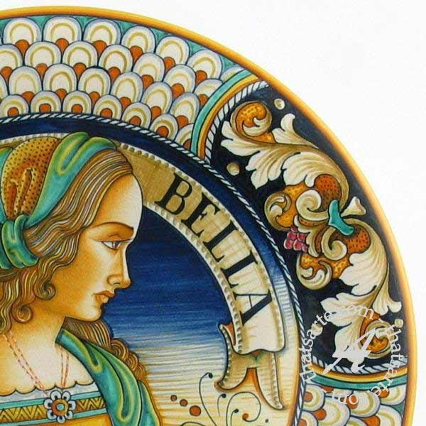 Hand Made Italian Ceramics: How To Spot A Fake – Thatsarte Regarding Italian Ceramic Wall Art (Image 8 of 20)