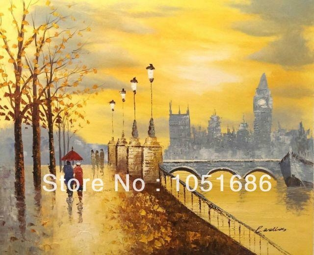 Featured Image of London Scene Wall Art