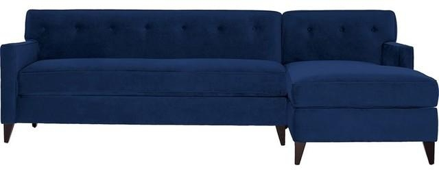 Harrison 2 Piece Sectional Sofa, Choice Of Fabrics – Contemporary Regarding Harrison Sofas (Image 9 of 20)