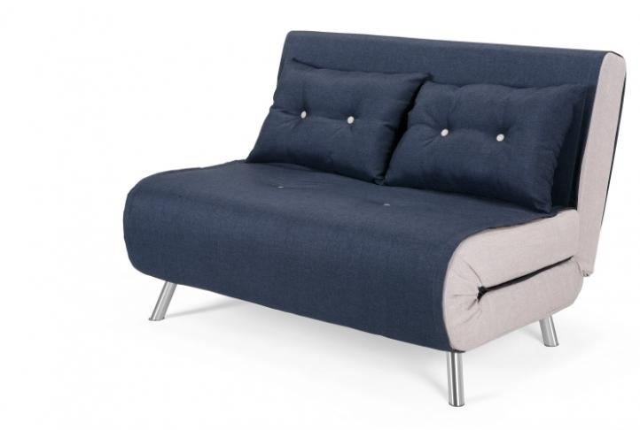 Haru Small Modern Sofa Bed, Quartz Blue | Absolute Home Inside Small Modern Sofas (View 11 of 20)