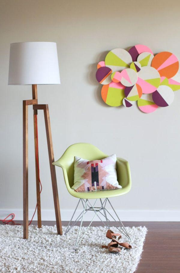 Here Are 20 Creative Paper Diy Wall Art Ideas To Add Personality With 3D Clouds Out Of Paper Wall Art (View 19 of 20)