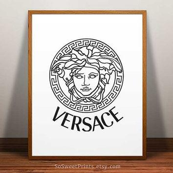 Hermes Poster, Hermes Wall, Hermes Paris, From Sosweetprints On With Versace Wall Art (Image 9 of 20)
