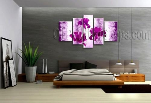 High Quality Huge Multiple Panels Canvas Wall Art Contemporary Within Multi Canvas Wall Art (Image 12 of 20)