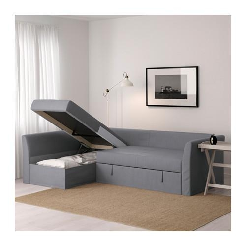 Holmsund Corner Sofa Bed – Ransta White – Ikea Pertaining To Corner Sofa Beds (Image 14 of 20)