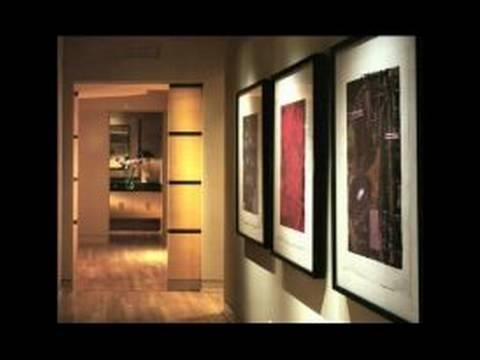 Home Lighting Design Tips : Wall Art & Home Lighting Tips – Youtube In Wall Art Lighting (Image 8 of 20)