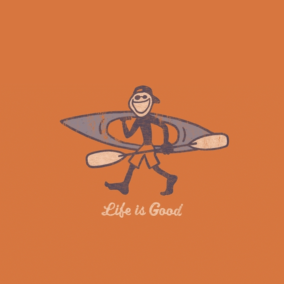 Home & Pet Kayak Life Is Good Wall Art | Life Is Good® Official Site For Life Is Good Wall Art (View 10 of 20)