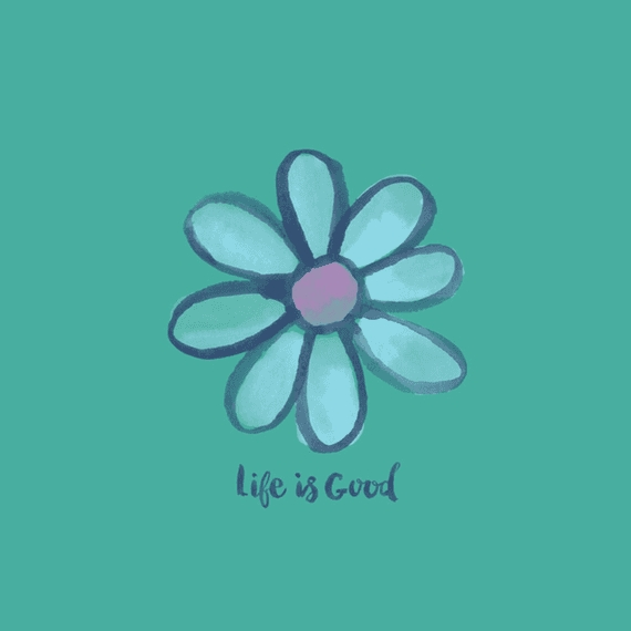 Home & Pet Life Is Good Daisy Wall Art | Life Is Good® Official Site Throughout Life Is Good Wall Art (View 13 of 20)