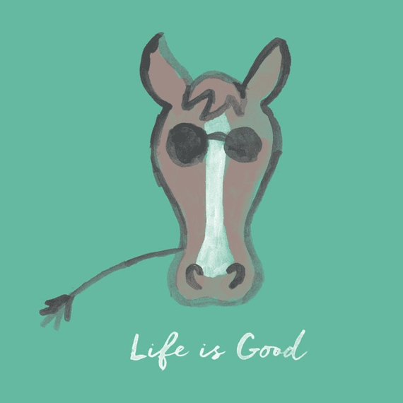 Home & Pet Life Is Good Horse Wall Art | Life Is Good® Official Site In Life Is Good Wall Art (View 19 of 20)