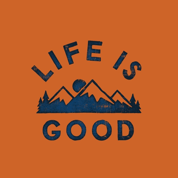 Home & Pet Life Is Good Mountains Wall Art | Life Is Good Regarding Life Is Good Wall Art (View 12 of 20)