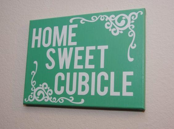 Home Sweet Cubicle – Custom Canvas Wall Art For Your Office Within Cubicle Wall Art (View 16 of 20)