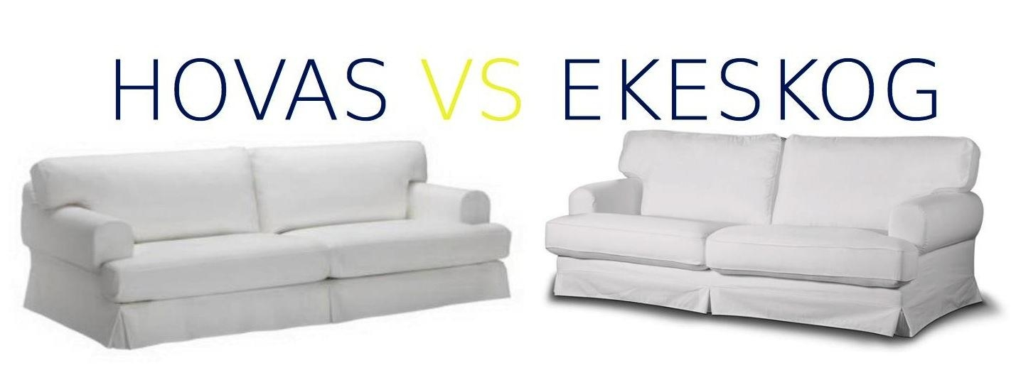Hovas Vs Ekeskog : Differences? Can I Fit The Hovas Slipcover On For Slipcovers For 3 Cushion Sofas (Photo 5 of 20)