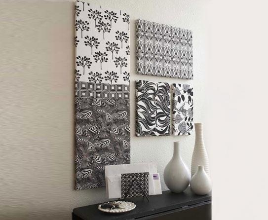 How Has Fabric Wall Art Grown Over The Years? Inside Framed Fabric Wall Art (Image 17 of 20)