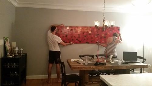 How To Hang Artwork??? With Large Horizontal Wall Art (Image 9 of 20)
