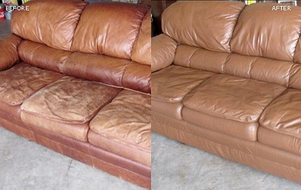 How To Repair Leather At Home – Within Bomber Leather Sofas (Image 9 of 20)