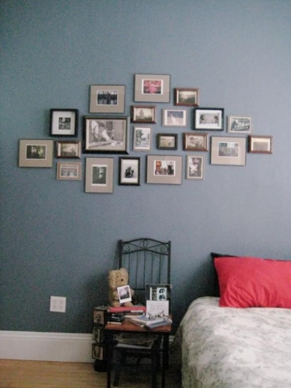 Ideas To Create Bedroom Wall Art – Architecture Decorating Ideas For Bedroom Wall Art (Image 16 of 20)