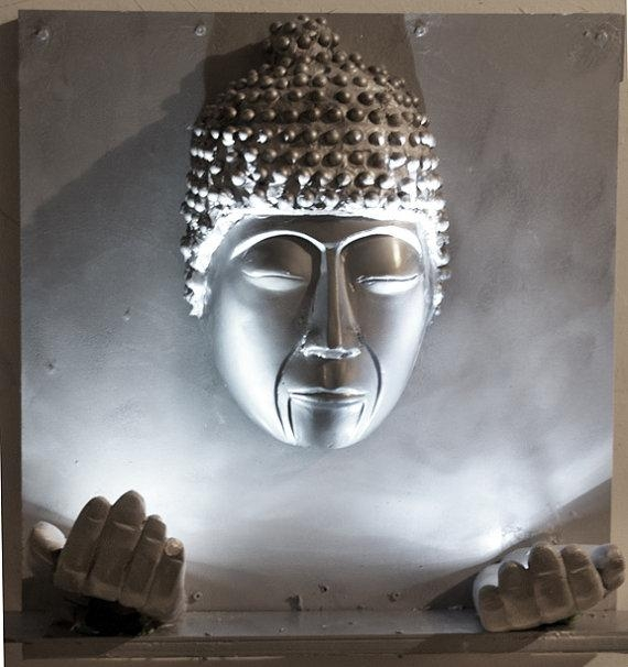 Featured Image of 3D Buddha Wall Art
