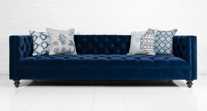 Impressive Ava Velvet Tufted Sleeper Sofa Magnificent Modern Intended For Ava Tufted Sleeper Sofas (Image 11 of 20)