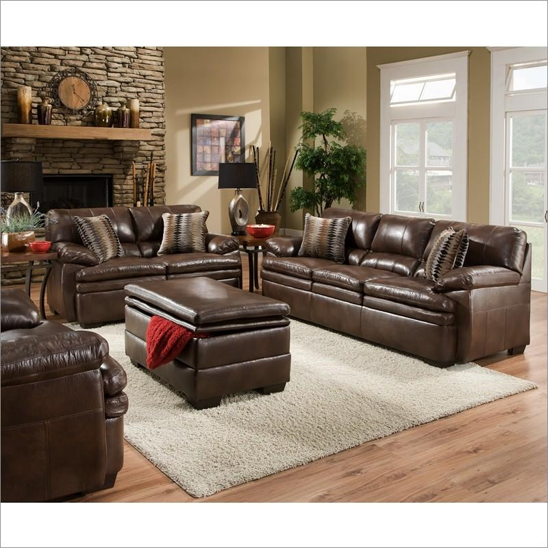 Impressive Simmons Bonded Leather Sofa Simmons Upholstery Editor With Regard To Simmons Bonded Leather Sofas (Image 14 of 20)