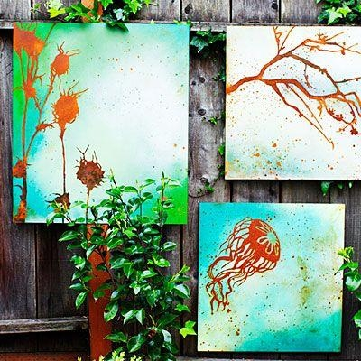 Incredible Diy Garden Fence Wall Art Ideas With Diy Garden Wall Art (View 7 of 20)