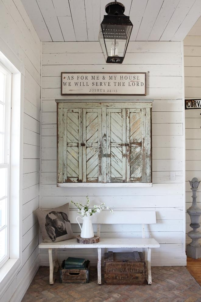 Incredible Outdoor Wall Art Plaques Decorating Ideas Images In Throughout Farmhouse Wall Art (View 10 of 20)