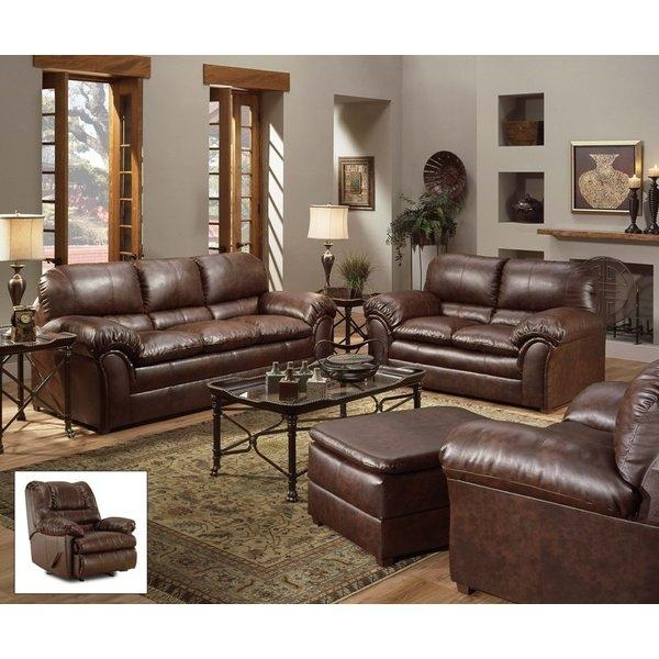 Incredible Simmons Leather Sofa Simmons Upholstery Living Room With Regard To Simmons Leather Sofas (Image 7 of 20)