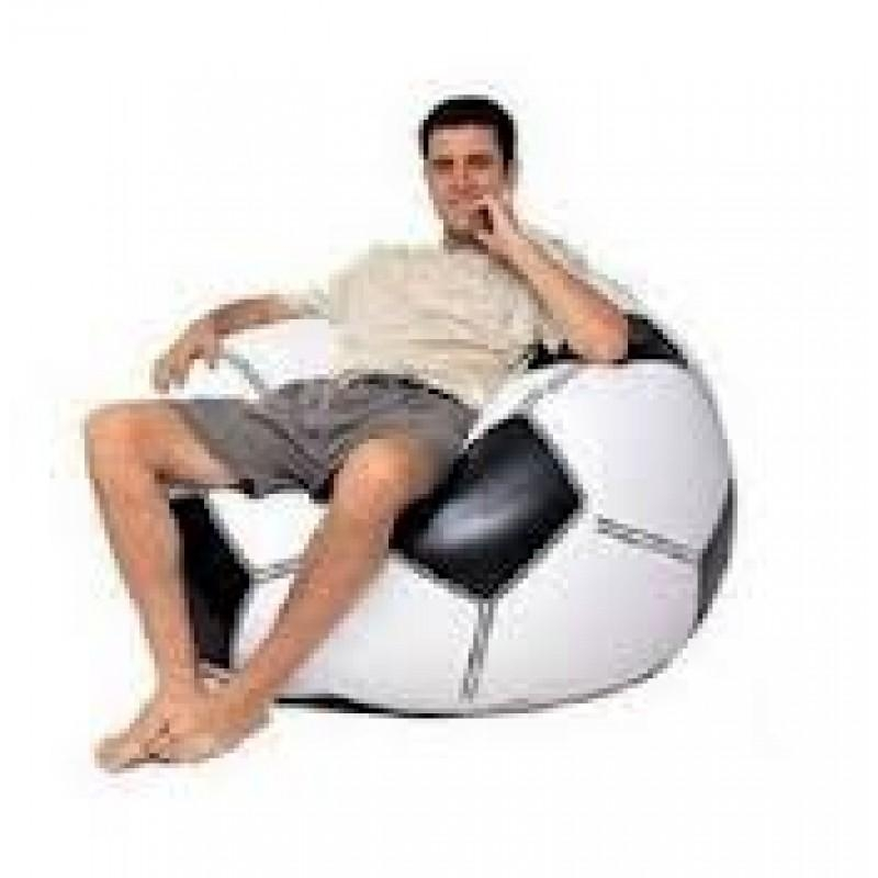 Inflatable Football Beanless Bag 68557Np, With Pump – As Seen As On Tv Regarding Intex Pull Out Chairs (Image 4 of 20)