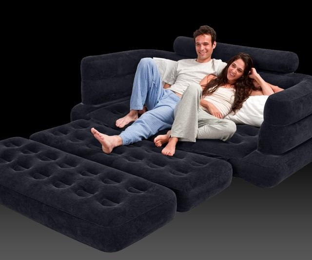 Inflatable Pull Out Sofa | Dudeiwantthat With Regard To Inflatable Pull Out Sofas (Image 7 of 20)