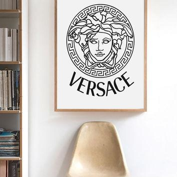 Inspirational Bible Verse Wall Art From Sammystudio On Etsy Regarding Versace Wall Art (Image 10 of 20)
