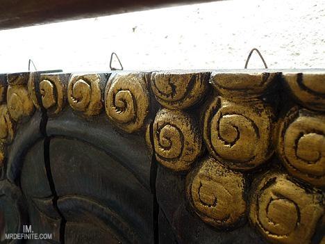 Installing Wooden Buddha Wall Art Panels The Alternative Way Pertaining To Buddha Wood Wall Art (Image 5 of 20)