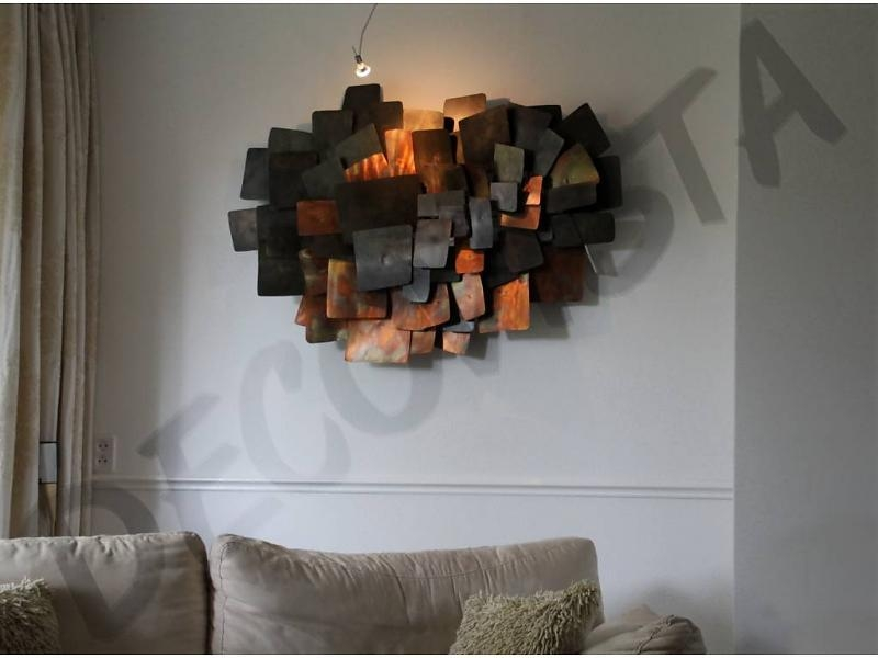 Integrate, Metal Wall Art Sculpture – Decovista – Toms Drag Pertaining To Artisan House Metal Wall Art (View 13 of 20)