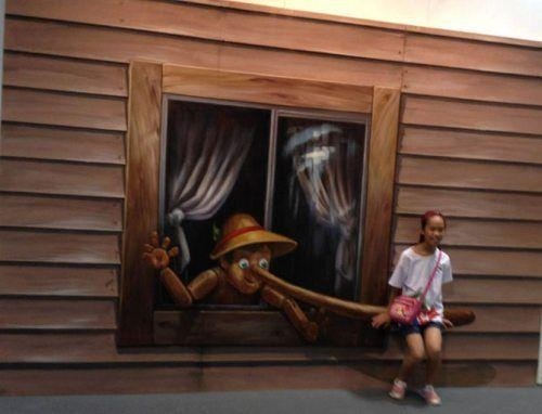 Interactive 3D Wall Art Is A Game Changer (35 Photos) | 3D Wall For Illusion Wall Art (Image 10 of 20)