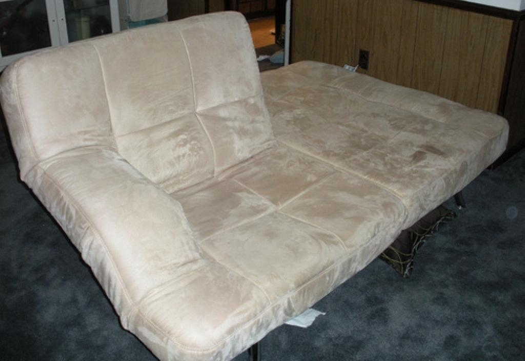 Interesting And Good Chai Microsuede Sofa Bed Designed For Home Regarding Microsuede Sofa Beds (Image 9 of 20)