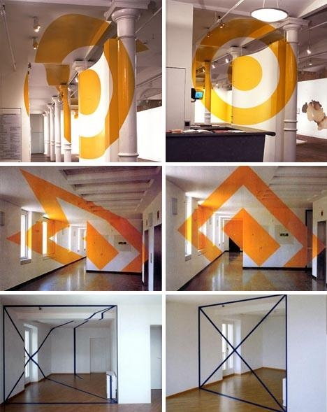 Interior Design + Wall Art = Incredible Optical Illusions Regarding Optical Illusion Wall Art (View 6 of 20)