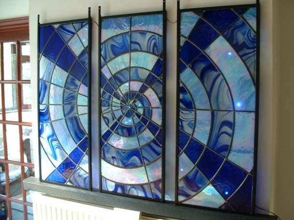 Interior Wall Art – Stained Glass Art Inside Modern Glass Wall Art (Image 11 of 20)