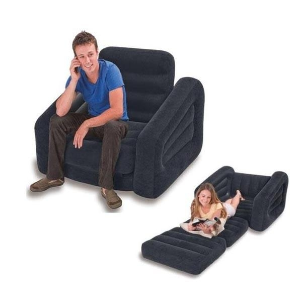Intex 68565 Single Inflatable Sofa Online Shopping Uae – Shop Throughout Intex Air Sofa Beds (View 12 of 20)