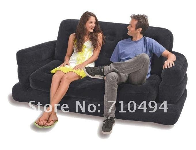 Intex Air Sofa Bed Review – Trubyna Pertaining To Intex Inflatable Sofas (Image 10 of 20)