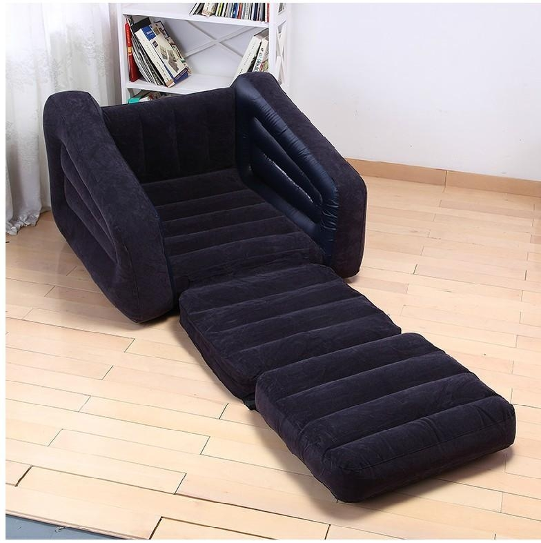 Intex Indoor Pull Out 2 In 1 Valve Air Chair/sofa – Buy Air Sofa Throughout Intex Pull Out Chairs (View 16 of 20)