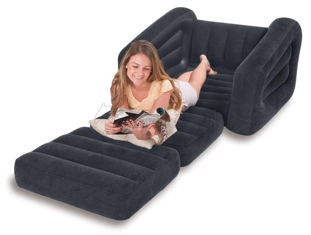 Intex Inflatable One Seater Pull Out Chair – Model Number 68565 On Regarding Intex Pull Out Chairs (View 6 of 20)