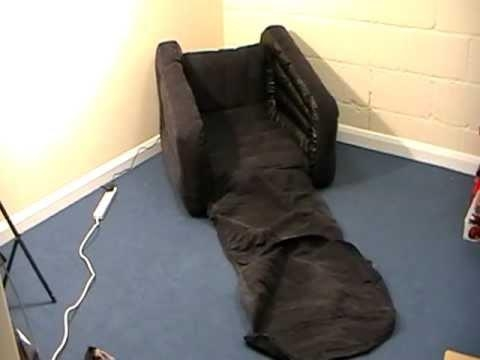 Intex One Person Inflatable Pull Out Chair – Youtube Inside Intex Pull Out Chairs (Image 10 of 20)