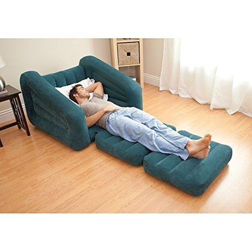 Intex Pull Out Chair Inflatable Bed, Twin – Mattress (Image 12 of 20)
