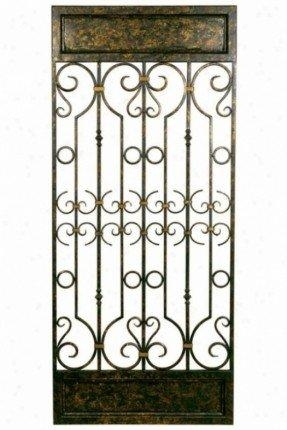Iron Wall Art Decor – Foter Pertaining To Metal Gate Wall Art (Image 17 of 20)