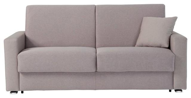 Italian Modern Sofa Bed With Full Size Mattress – Modern – Sleeper Pertaining To Full Size Sofa Beds (View 11 of 20)