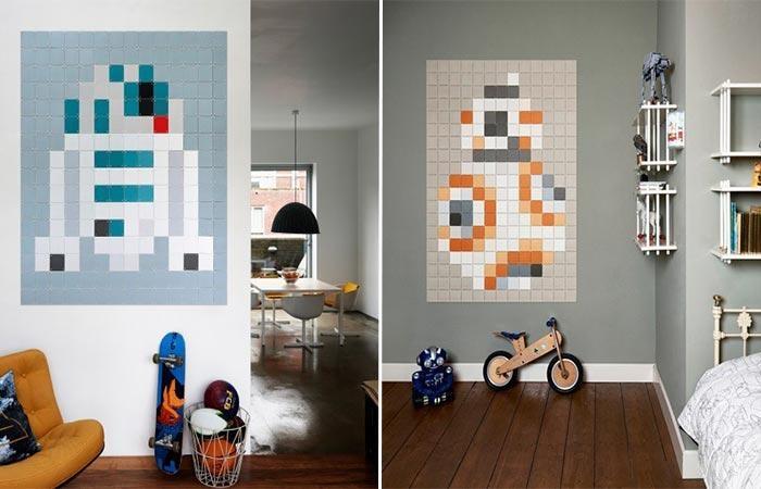 Ixxi Star Wars Mosaic Wall Art Regarding Pixel Mosaic Wall Art (View 17 of 20)