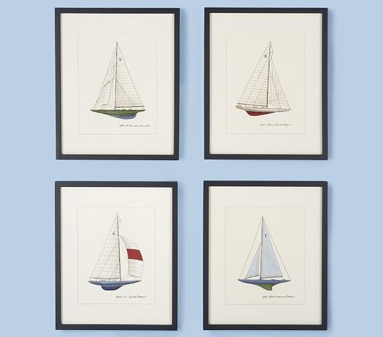 J Boat Wall Art | Pottery Barn Kids Intended For Boat Wall Art (View 12 of 20)
