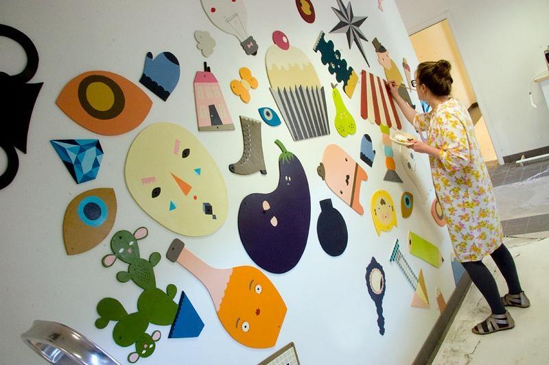 Jan Ul: Sandra Juto: Wall Art With Preschool Wall Art (View 12 of 20)