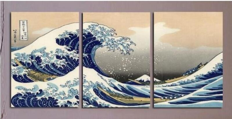Japanese Art Pictures Promotion Shop For Promotional Japanese Art Intended For Japanese Wall Art Panels (View 14 of 20)