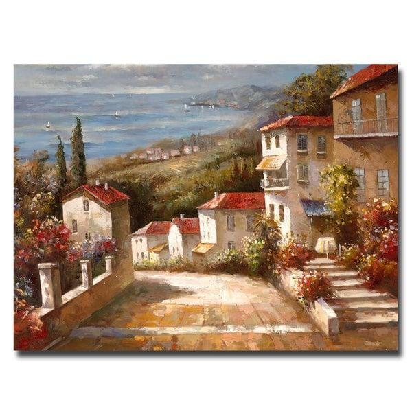 Joval 'home In Tuscany' Canvas Wall Art – Free Shipping Today Within Tuscany Wall Art (Image 8 of 20)