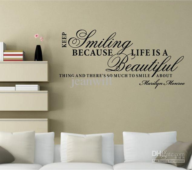 Featured Image of Marilyn Monroe Wall Art Quotes